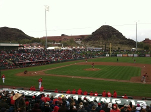 Home again, if only for a week - Tempe Diablo Stadium