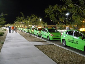 Taxi queue - Salt Rive Flats