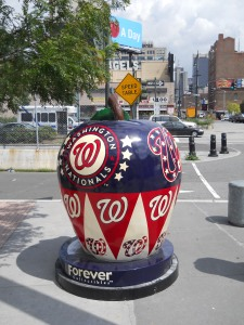 Washington Nationals apple - West Side