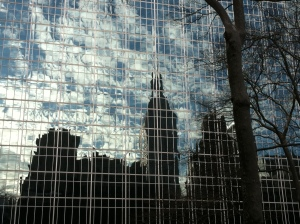 Reflection - Bryant Park
