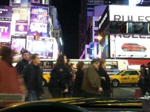 Pedestrians - Times Square