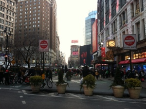 Broadway, interrupted - Herald Square