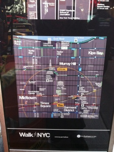 You are here - Times Square