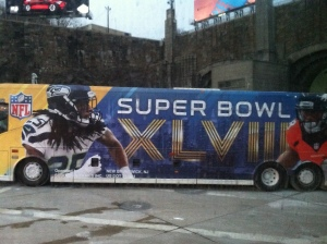Super Bowl Bus - Weekhawken