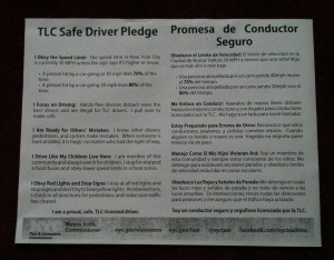 Safe Driver Pledge