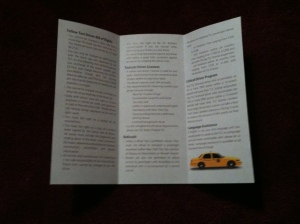 Bill of Rights (for cabbies)