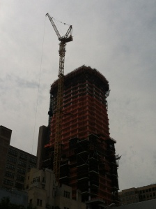 Going up - TriBeCa